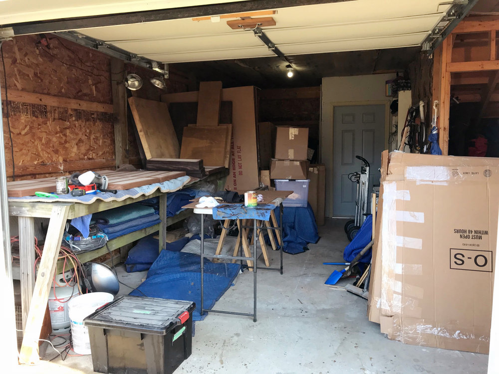 The garage has been filling up with a lot of deliveries lately  |  Glenn, MI