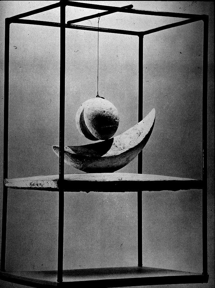 """Alberto Giacometti, """"Suspended Ball,"""" 1930-31."""