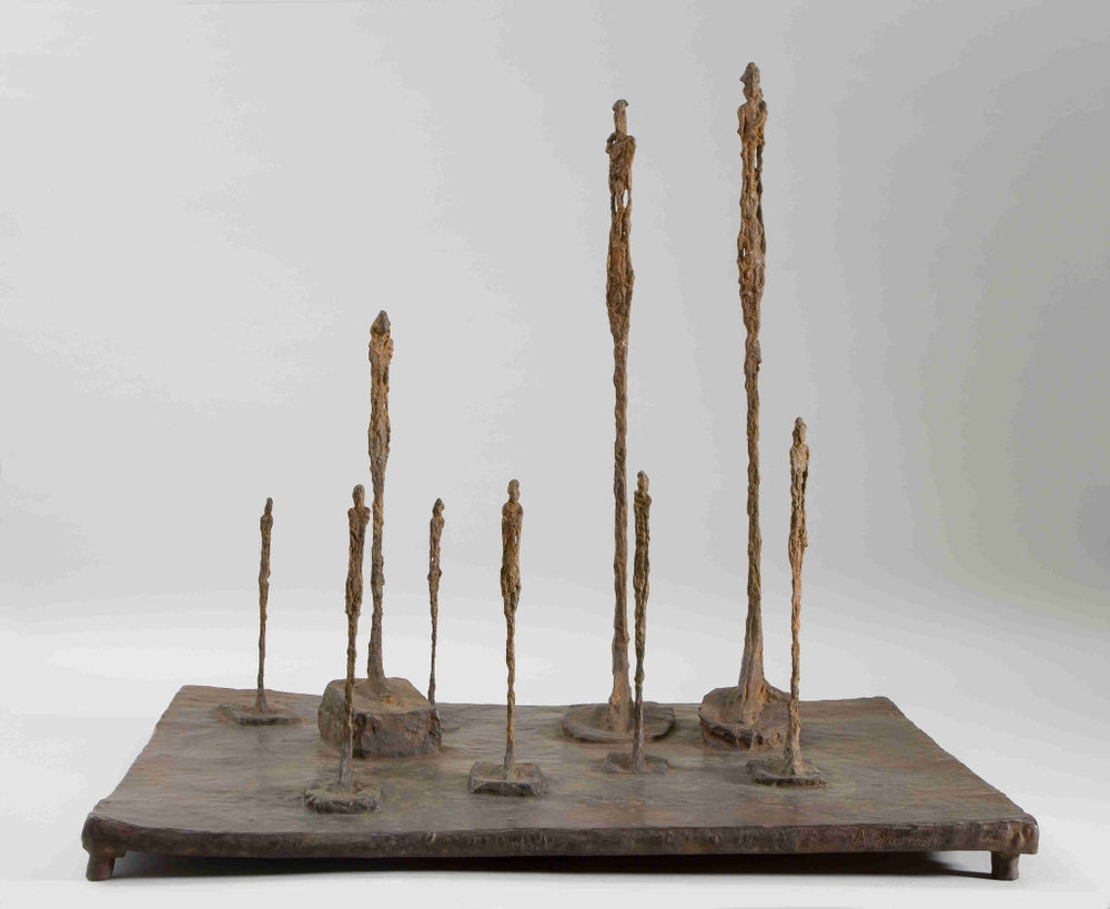 "Albert Giacometti, ""The Clearing"""