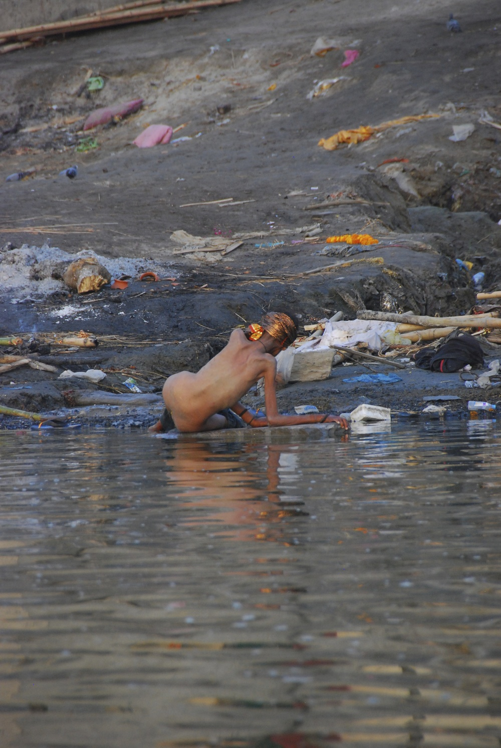 A dream of many Hindus is to die on the banks of Ganga - the path to Nirvana.