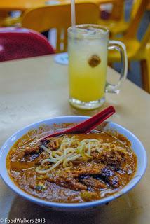 Penang Seafood's Assam Laksa