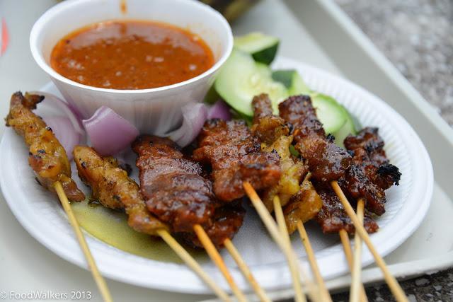 Mixed satay from Musa Ikan Bakar