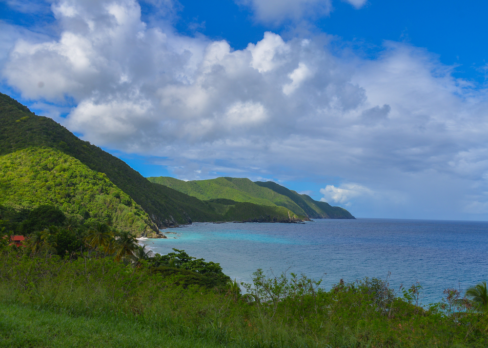 St. Croix's north coast
