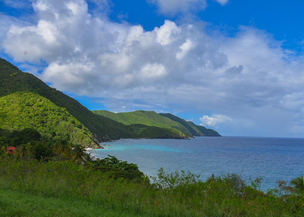St. Croix's north coast