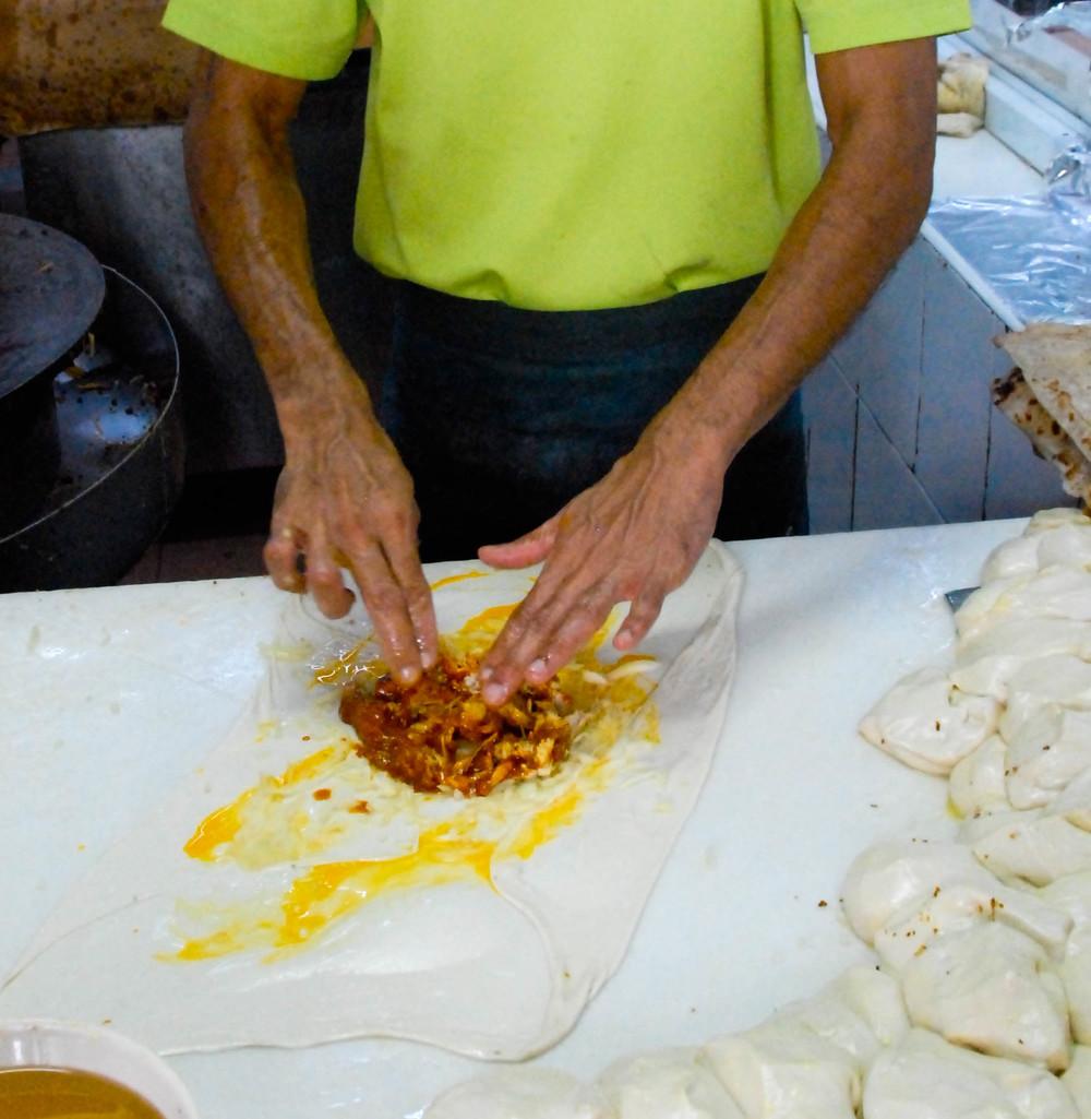 Making murtabaks