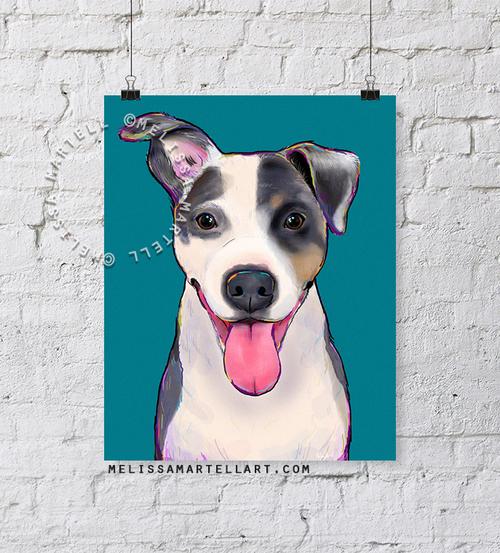 f7587e7d51a99 Custom-Pet-Dog-Portrait-Display-2015-Melissa-Martell.
