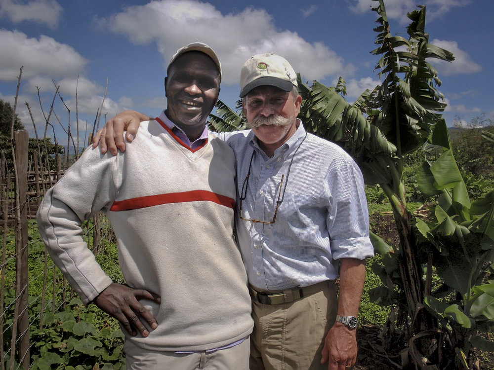 Josphat Macharia and Bill Gast