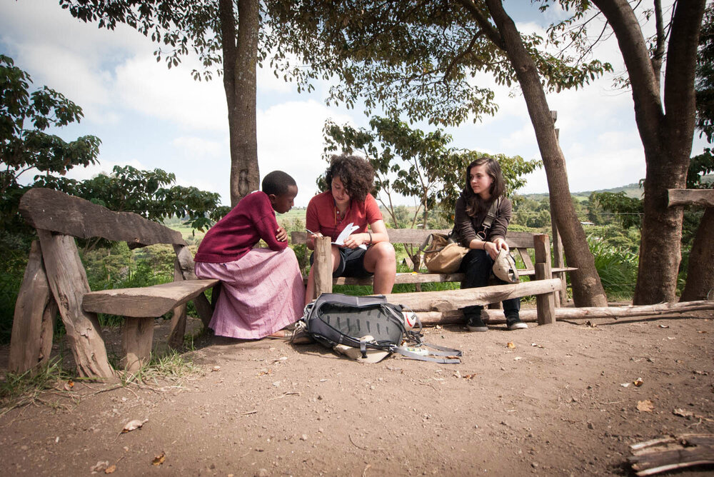 Students from UArts learn about Malaria firsthand