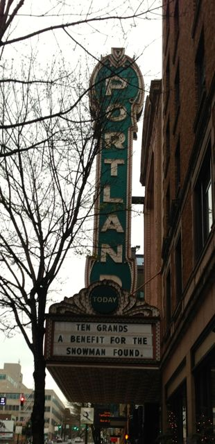 Arlene Schnitzer Concert Hall's Iconic Portland Marquee