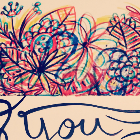 Flowers & Letters