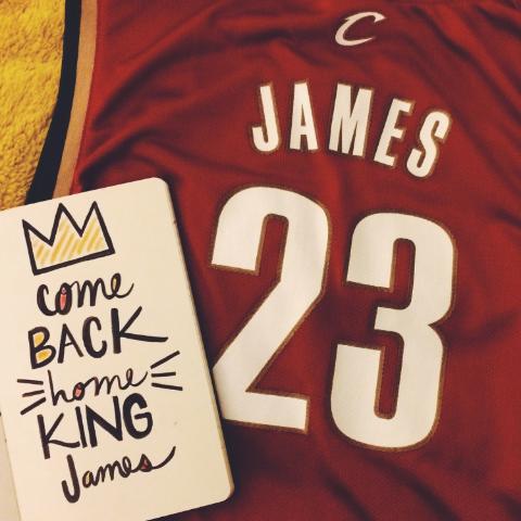 Come Back King James!