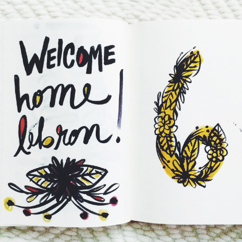 Welcome Home Lebron