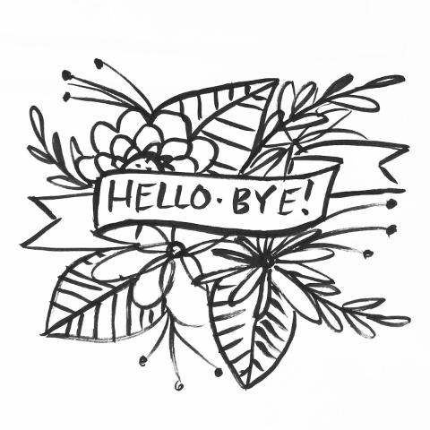 Hello & Bye.