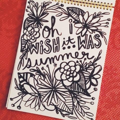 wish it was summer