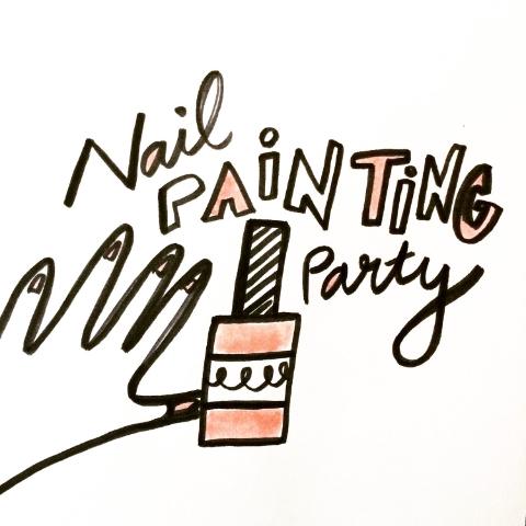 nail painting party!