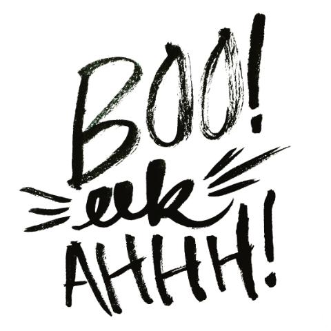 boo eek ahhh!