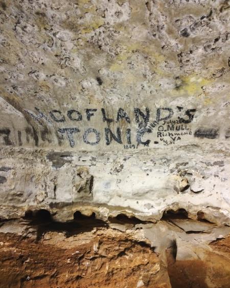Original cave add.