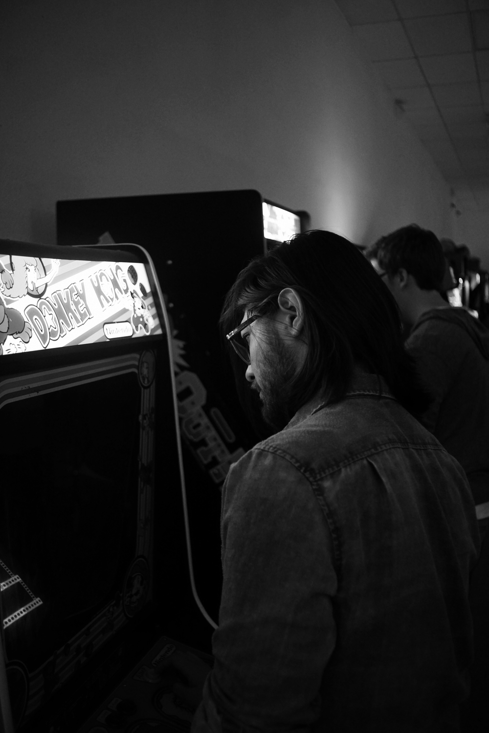 It's not just Pinball, vintage arcade games from the 80s and 90s are also on display for play. Photo: Trey Takahashi