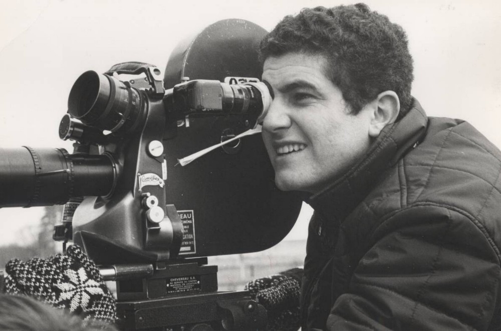 Les Films 13: Claude Lelouch shooting with a Caméflex camera