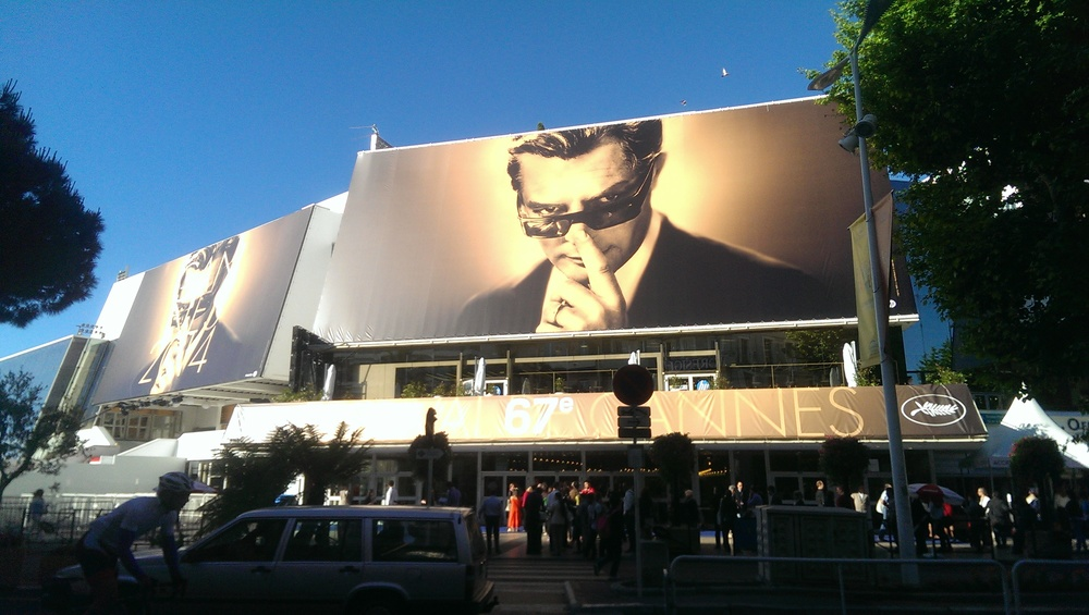 Cannes film festival. Photo: Allison Launay