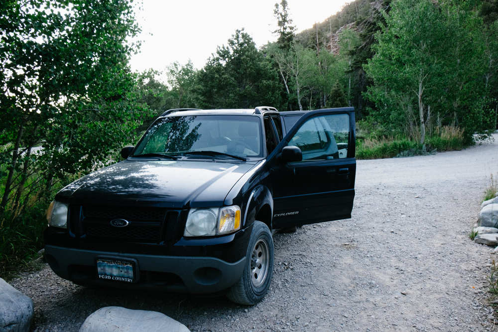 This old Ford Explorer has been through a lot but it still has many more miles to go.