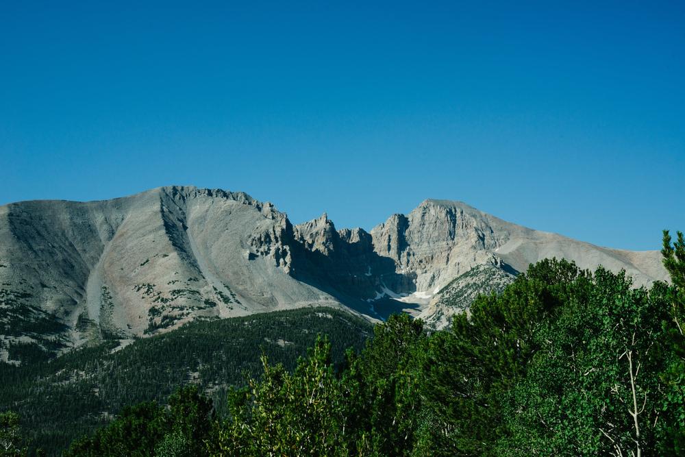 Scenic looks along the tight and narrow Wheeler Pass.