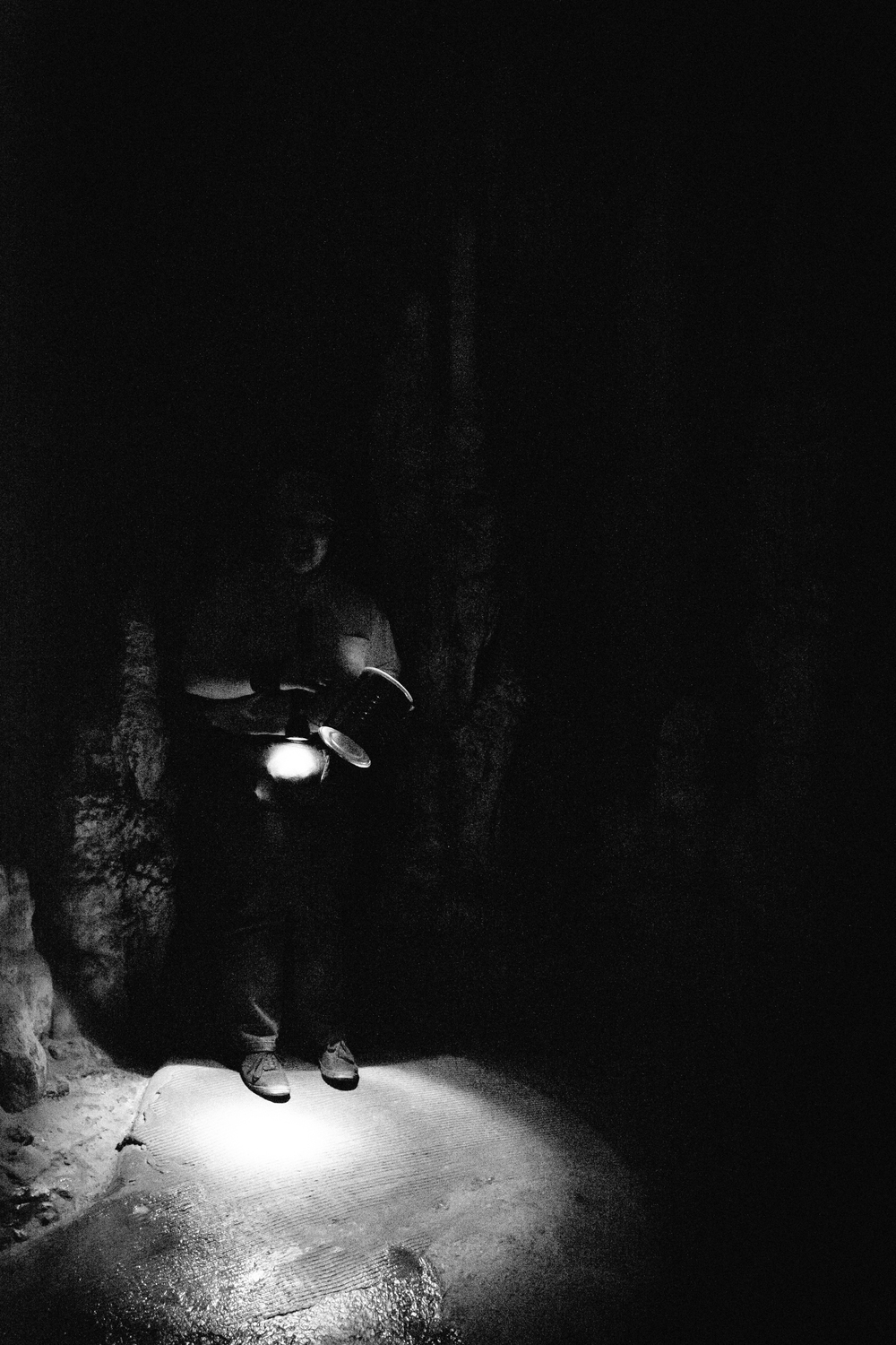 Tours by candlelight are no longer possible, but our guide gave us a great demonstration on how eerie they were.