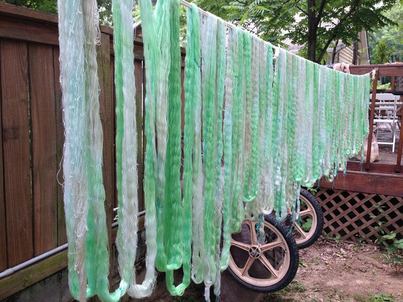 GreenPaintedWarp-2