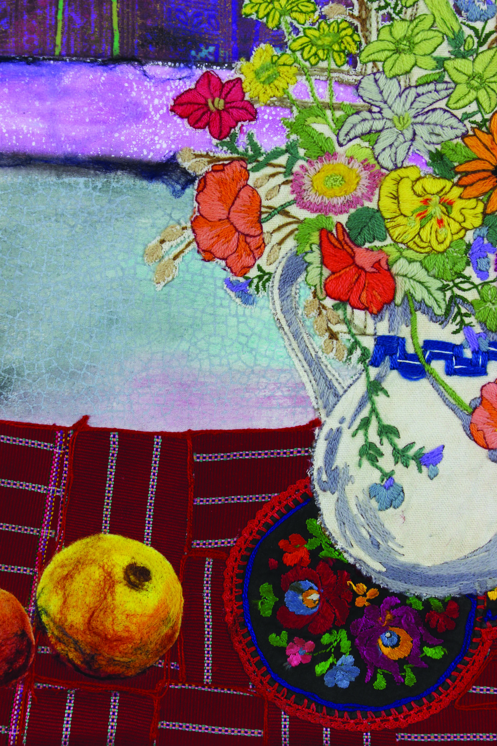 Vase With Flowers Detail