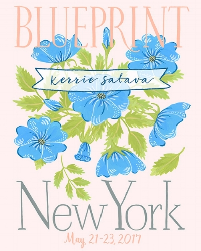 Blog kerrie satava illustration and design blueprint show nyc may 21 23 2017 malvernweather Images