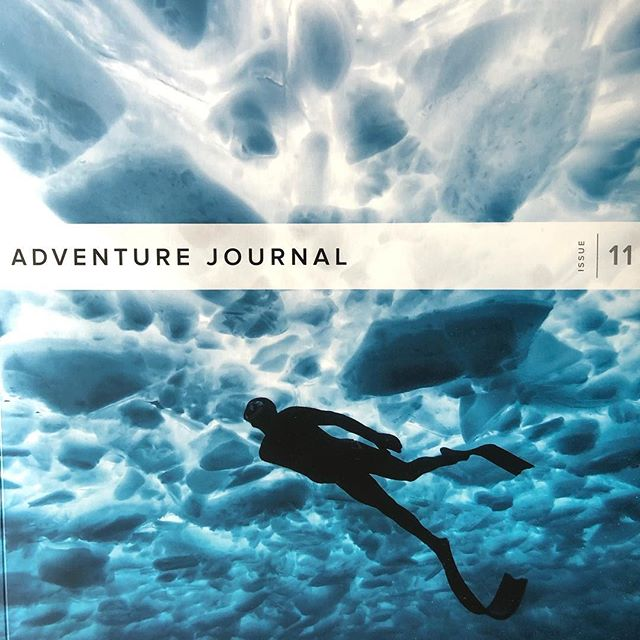 The @adventurejournal delivery day is like my quarterly Christmas present.