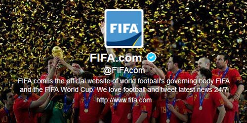 FIFA Twitter DMCA Takedown Notice   Source