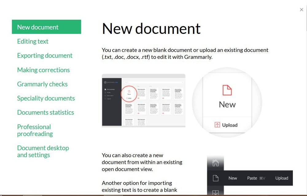 Grammarly Review Learn How To Use Grammarly Tips Tutorial Preview New Document   Source