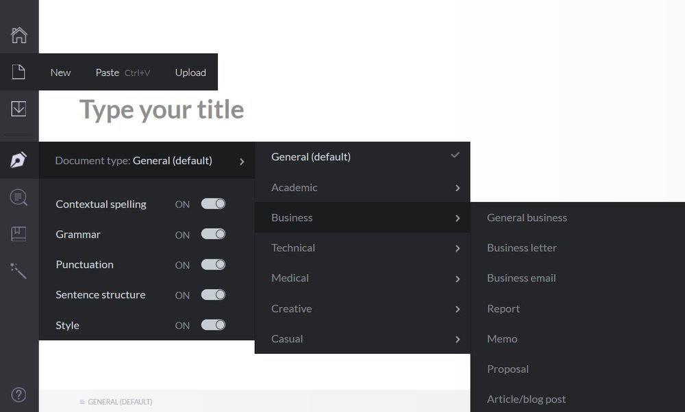 Grammarly Review Learn How To Use Grammarly Tips Document Types Source