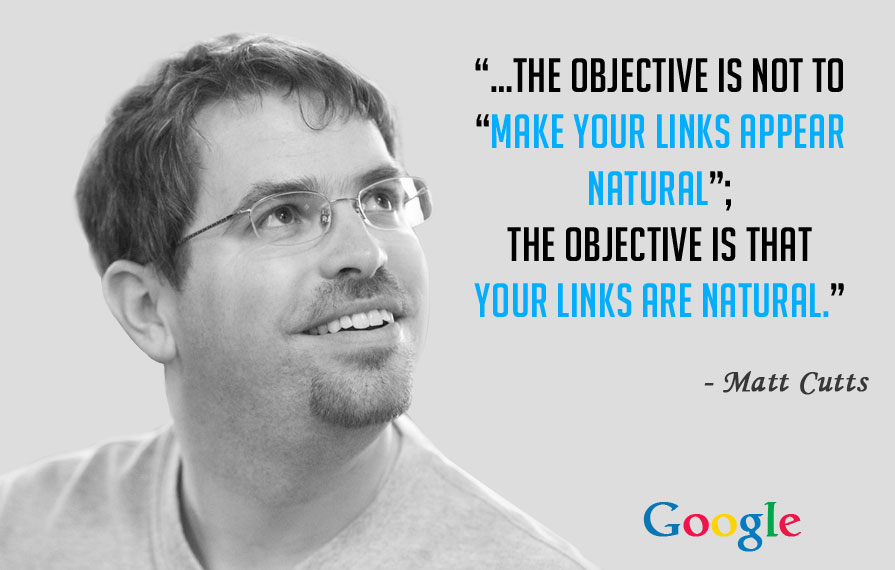 Matt Cutts On Natural Link Building And Safe Link Building   Source