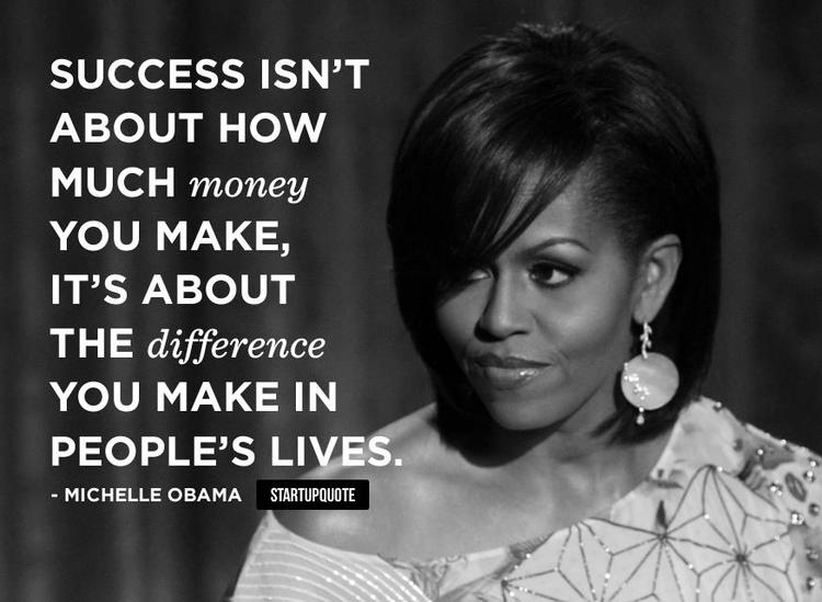 Motivational Sayings Motivational Quotes For Work What Is Success Michelle Obama Source