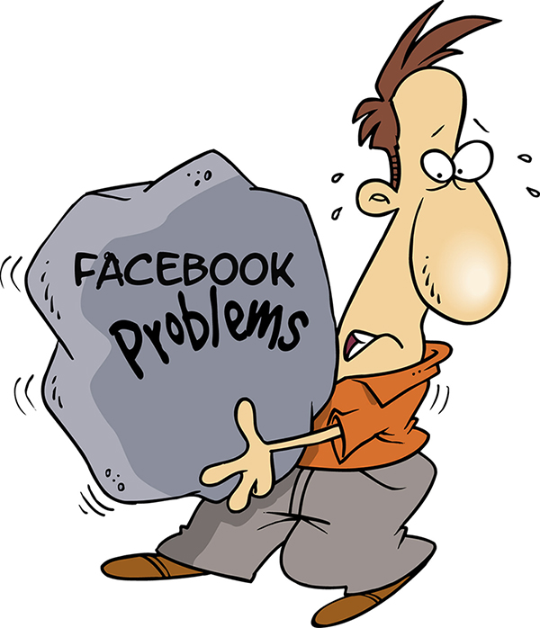 I Hate It Facebook Social Media Connection Problems   Source