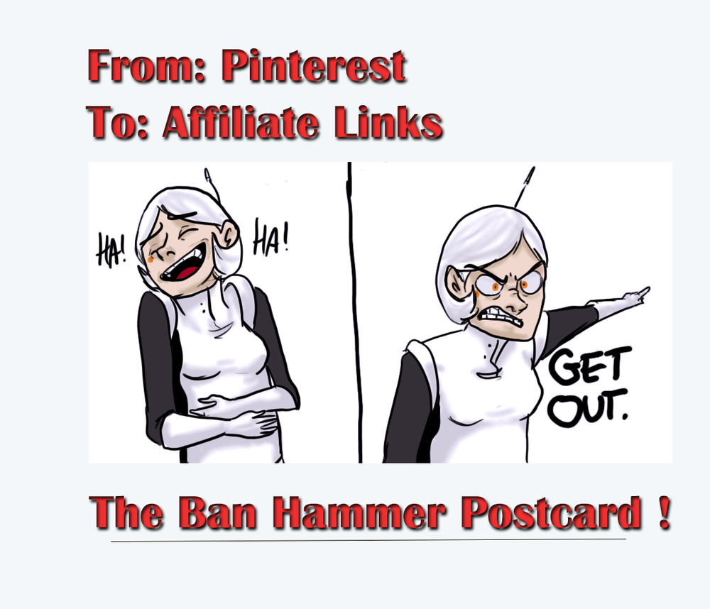 Get Out Pinterest Postcard To Affiliate Links Source