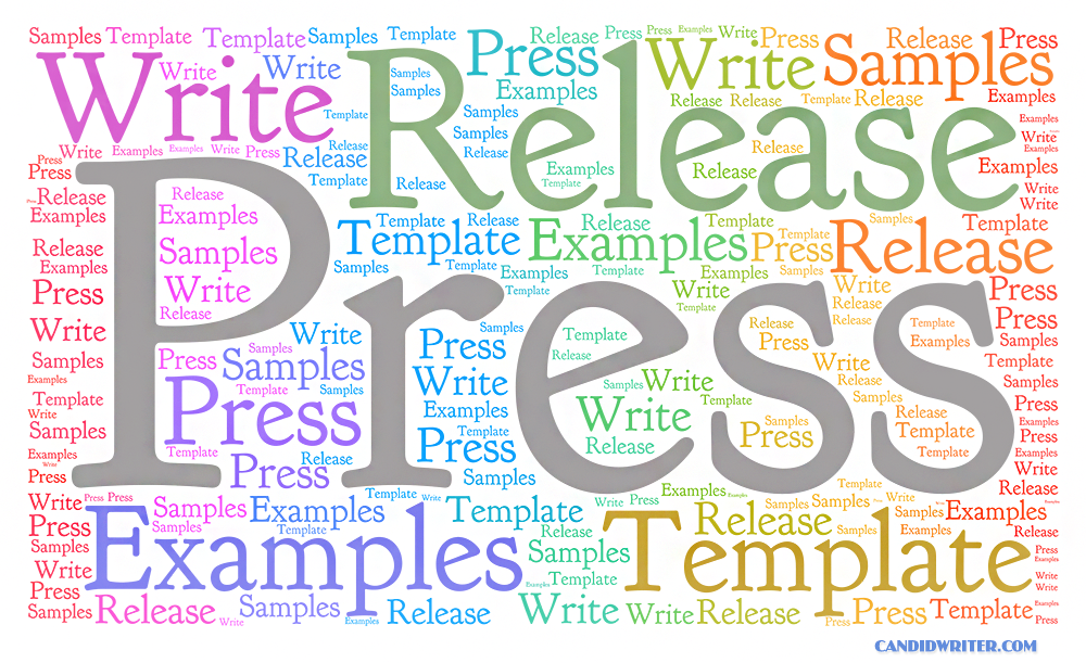 Learn How To Write A Press Release With Examples And Templates Source