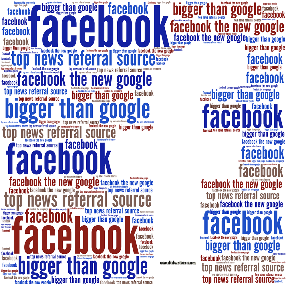 Top News Referral Source Facebook Over Google Source