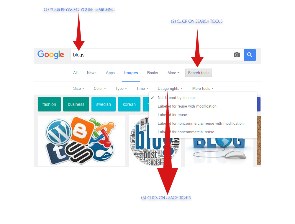 How To Use Google Advanced Search To Find Free Creative Commons Images   Source