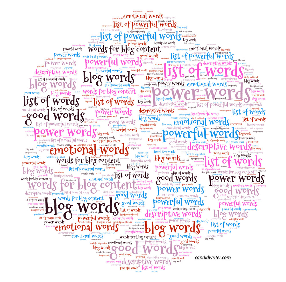 Powerful Words Power Words Good Words Interesting Words And Descriptive Words Source