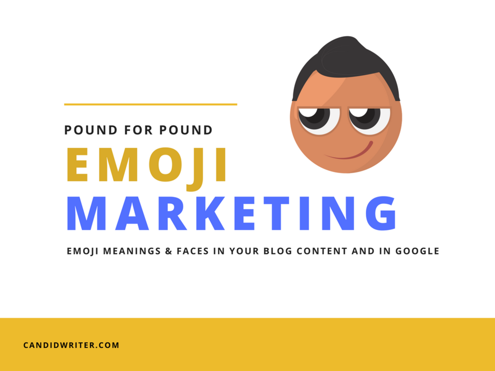 Emoji Emoticon Marketing And Meanings For Content And Google   Source