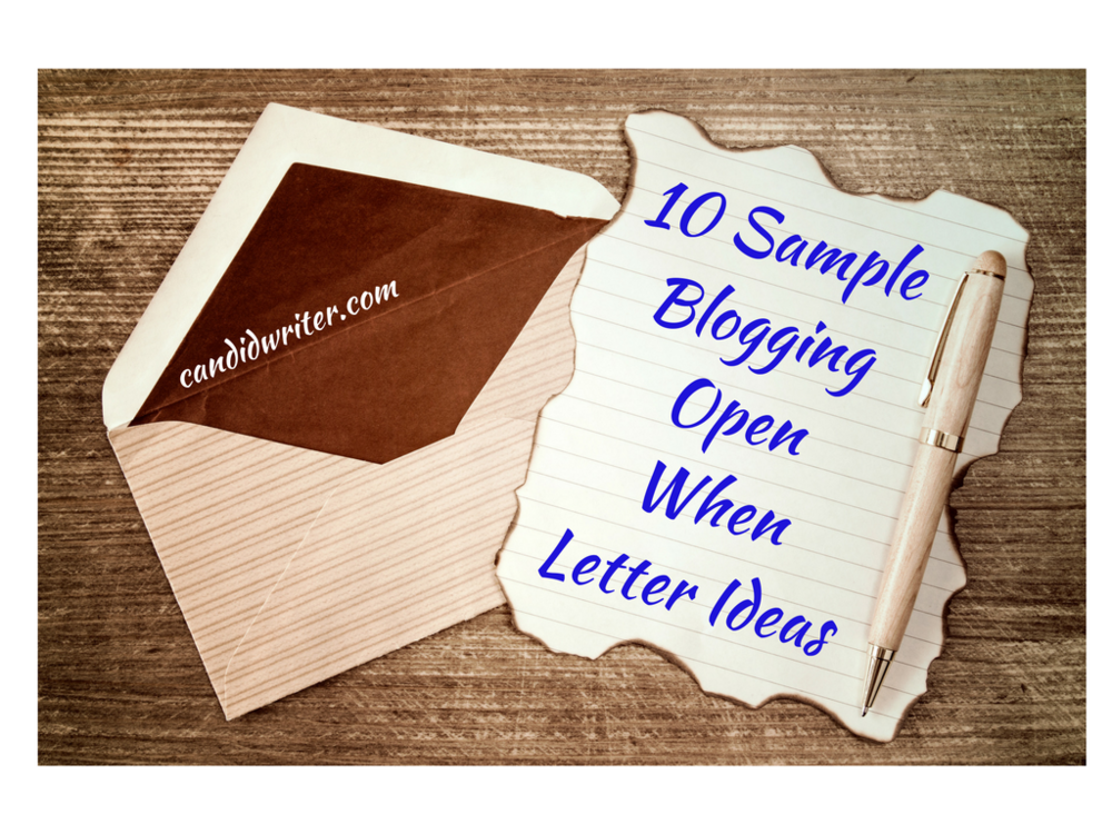Open When Sample Letter Card Ideas For The Frustrated Blogger   Source