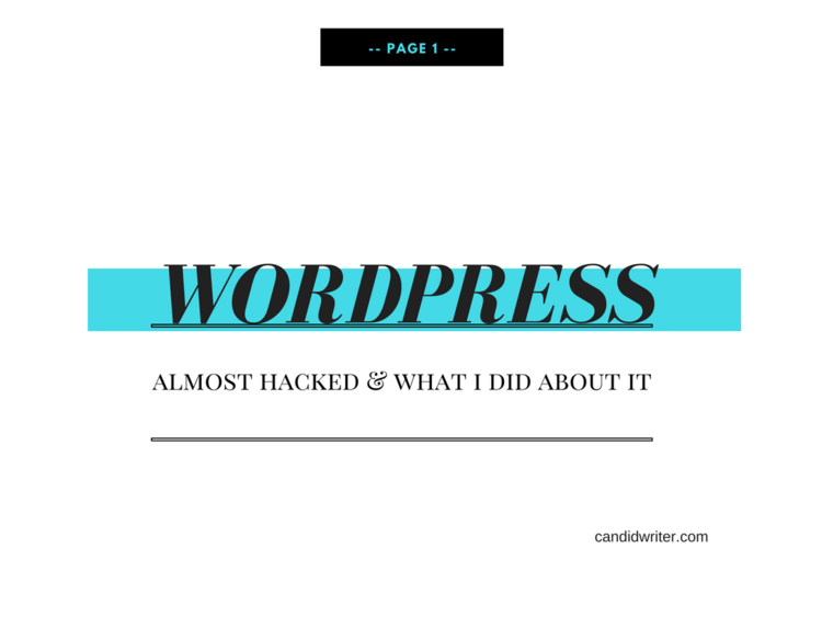 Shellacking The Hacking A Wordpress Security Scoop 2017 2018