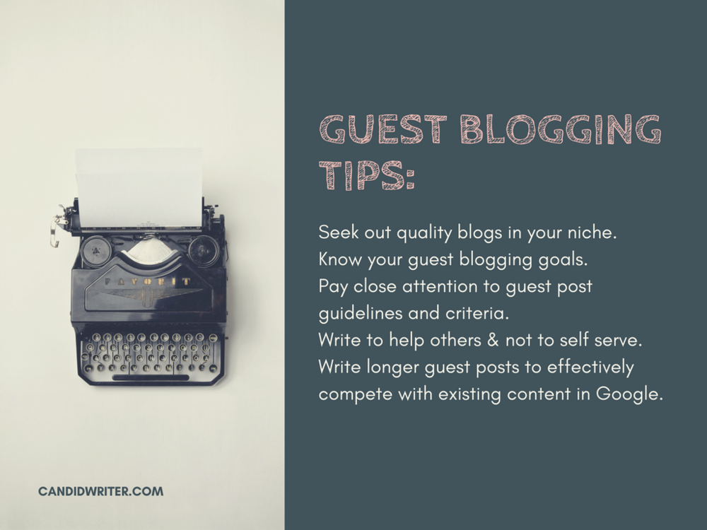 Guest Blogging And Guest Post Tips Source