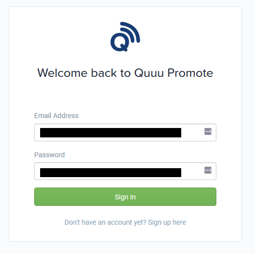 Promote Your Blog With Quuu Promote Login   Source