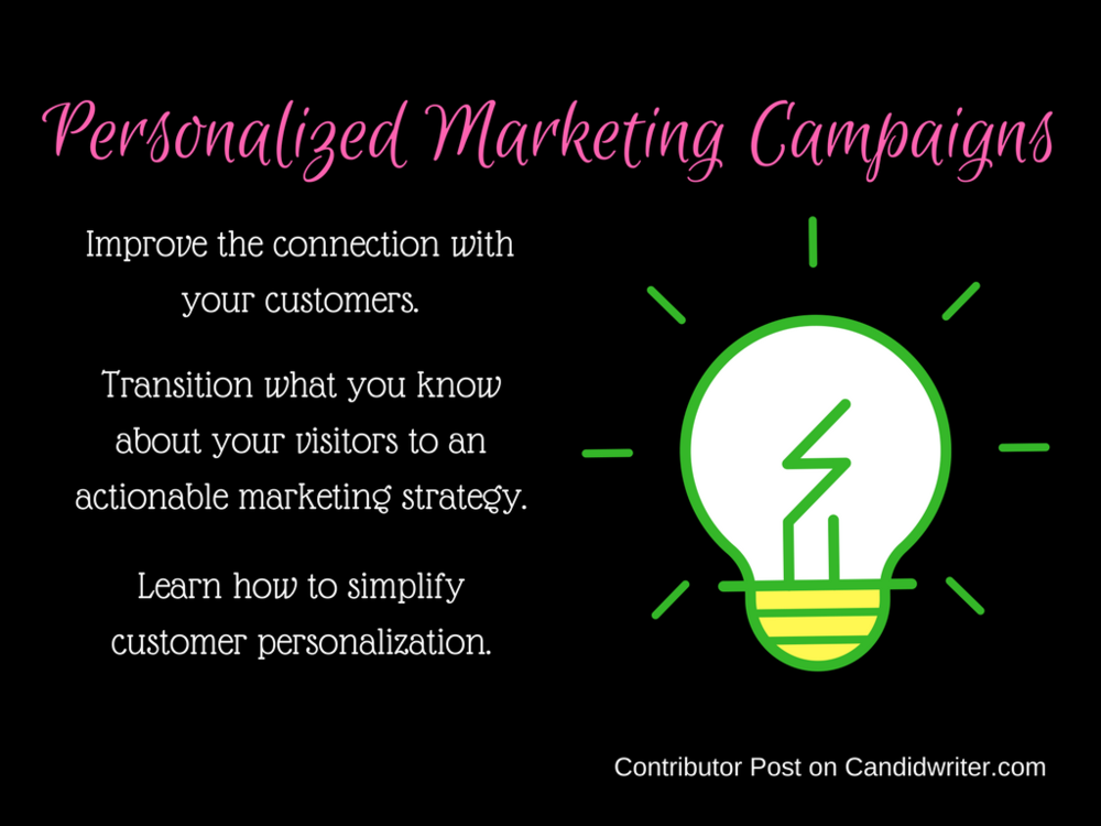 Personalized Direct Internet Marketing Campaigns   Source