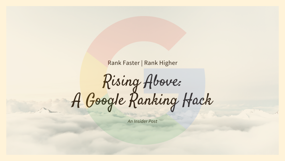 How To Improve Google Ranking   Source