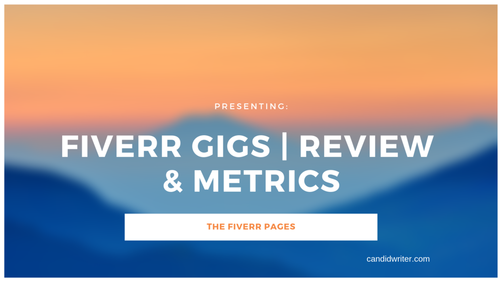 Fiverr Gigs Review Metrics   Source